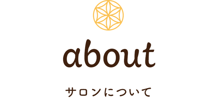 about サロンについて
